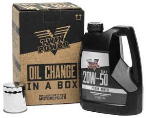Twin Power 20W50 Quick Change Oil Kit Harley-Davidson Sportster 883 1987-2018