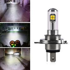 Motorcycle Cool H4/HS1 White Headlight 6500K LED Hi-Lo Beam Light Lamp Bulb