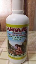 AMOLES KERATINA PROTEIN SHAMPOO 19.55 FL OZ. NEW WITH NORISANA 550 ML