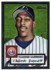 2001 Topps Heritage Chrome Vladimir Guerrero Refractor Card /552 Expos OF