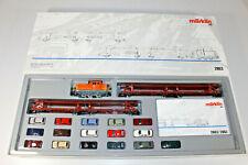 "Märklin H0 2863 Zugset ""Autotransportzug VW""  in OVP + TOP (F10-231)"