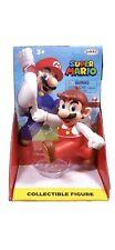 "Nintendo Super Mario Fire Mario running cap in hand figure 3"" Jakks"