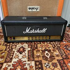 Vintage 1983 Marshall JCM800 Super Bass 1992 100w Vertical Valve Amplifier Head