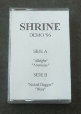 Metal Death Black Gothic Demo Cassette K7 Tape Shrine Demo 96 Portugal