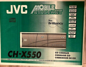 Jvc CH - X550 12 Disc Changer. Complete Kit. Brand New In Original Box.