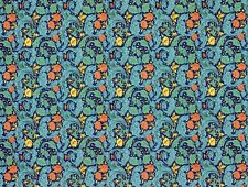 BACHELOR'S BUTTON WALLPAPER SHEET 13 x 19.5 INS FOR DOLLS HOUSE IN 12th SCALE
