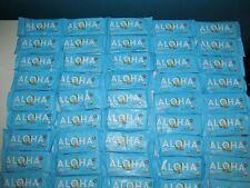 Aloha Plant Based Protein Bars HUGE Lot 45 Organic GF Vanilla Almond READ 3/20