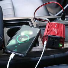 150W Power Inverter DC 12V to 110V AC Converter 5V USB Car Adapter