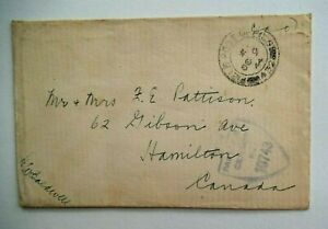 Postal History, Canada, WW II Military Corres., Censored, 1944, Excellent