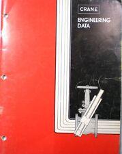 CRANE Data Catalog ASBESTOS Valve Gasket Packing Fittings Piping Industrial 1976