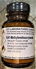 N,N′-Methylenebisacrylamide 99.5+% for molecular biology Electrophoresis Grade