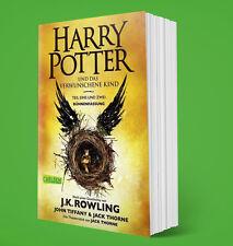Harry Potter und das verwunschene Kind - J. K. Rowling - SOFORT LIEFERBAR