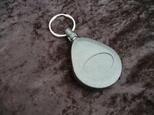 1 X Negro Carrete Retráctil con Clip para cinturón de bucle & Llavero nombre Tarjeta de Identificación Llaves Carrete