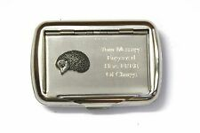 Single Hedgehog Tobacco Hand Rolling Cigarette Tin Free Engraving Nature Gift