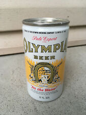 Vintage Garage Find Beer Can Olympia Beer It's The Water Lot M27