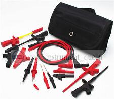 4mm Banana Plug Electronic Test Lead Automotive Multimeter Meter Test Probe Kit