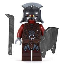 LEGO Minifigure - Lord of the Rings - URUK-HAI w/Helmet, Sword & Shield - Mint