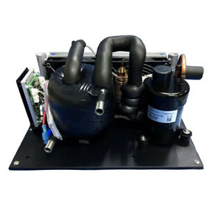 Micro DC 12V Liquid Chiller Refrigeration  Air Conditioner with water cooled