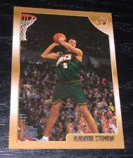 1998-99 Topps VLADIMIR STEPANIA RC card #194 ~ Seattle Sonics Rookie ~ F1