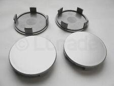 4x Nabenkappen Felgendeckel Nabendeckel Ø 75mm-72mm Silber Felgenkappen NEU
