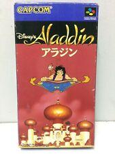 Aladdin Nintendo Super Famicom SFC