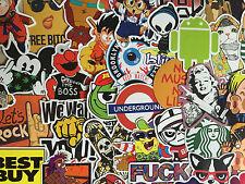 Sticker Decal Aufkleber 50-teiliges Set (GJ) - Ideal für Stickerbomb, Laptop, ..