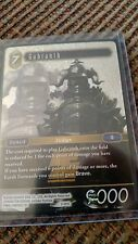 **FOIL** Gabranth 2-081L Legendary Final Fantasy TCG Opus II