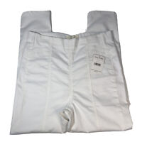 NWT FREE PEOPLE White Pull On Pants Size 32