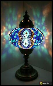 Mosaiklampe L orientalische Lampe Stehlampe Tischlampe Samarkand-Lights Lila
