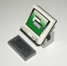 LEGO COMPUTER MONITOR KEYBOARD Minifigure Accessory Tool Utensil