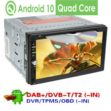 Android 10.1 Double 2 Din Car DVD Player Radio Stereo Head Unit GPS SAT NAV DAB