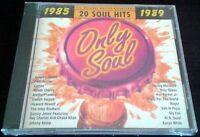 Only Soul 20 Hits 1985-1989 RARE NEW CD Sly Fox Patti Austin ARETHA FRANKLIN