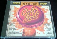 Only Soul 20 Hits 1985-1989 RARE NEW CD Sly Fox Patti Austin ARETHA FRANKLIN