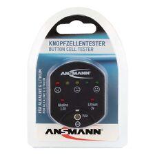 ANSMANN Knopfzellentester 1900-0035  - Knopfzellen Lithium Allkaline