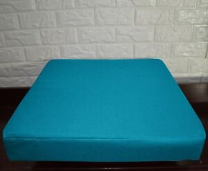 PL22t Turquoise Blue Specialist Water Proof Outdoor Box Seat Cushion Cover*Size