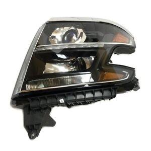 NEW Driver Left Genuine Headlight Headlamp For Chevy Tahoe Suburban No HID