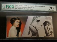 2018    Star Wars   Princess Leia    A New Hope    First Releases      PMG 70