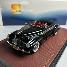 1/43 GLM Buick Roadmaster Convertible 76C 1941 Black Open top GLM107803