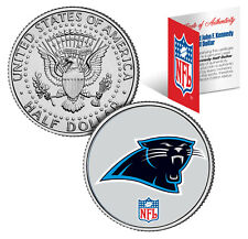 CAROLINA PANTHERS NFL JFK Kennedy Half Dollar US Coin  *Officially Licensed*