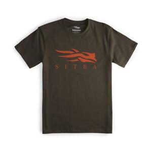 Sitka Icon Tee Shirt Earth