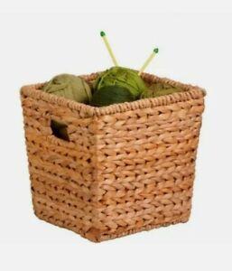 Honey-Can-Do Medium Square Banana Leaf Basket W