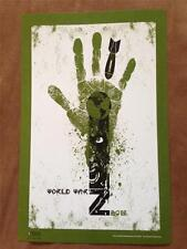 "WORLD WAR Z - 11""x17"""" Original Promo Movie Poster MINT & RARE Regal Brad Pitt"