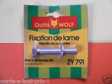 OUTILS WOLF ZY 791 vis boulon fixation de lame pour tondeuses Eurotondor NC