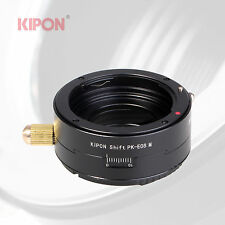 Kipon Shift Adapter for Pentax K PK Lens to Canon EOS M EF-M Mirrorless Camera