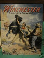 Tin Sign- Winchester- Guns and Cartridges- Wild Horses