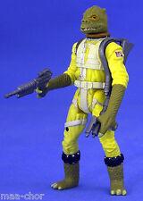 STAR Wars POTF LOOSE RARE Set BossK cacciatore di taglie in ottime condizioni. C-10+