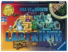 Ravensburger Familienspiel Such- & Schiebespiel Labyrinth Glow in the dark 26687