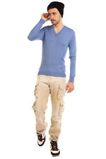RRP €660 DSQUARED2 Cashmere Jumper Size M Thin Knit Long Sleeve V Neck
