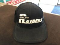 Black Puma Oakland Raiders Hat strapback