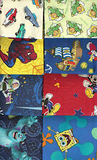 "HUGE LOT ASSORTED ""BOYS"" FAT QUARTERS (20) NO DUPLICATES - FREE SHIPPING!!"